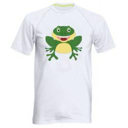 Мужская спортивная футболка Cute toad
