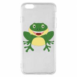 Чехол для iPhone 6 Plus/6S Plus Cute toad
