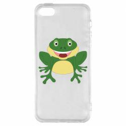 Чехол для iPhone5/5S/SE Cute toad