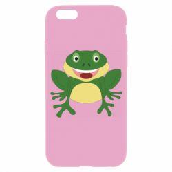 Чехол для iPhone 6/6S Cute toad