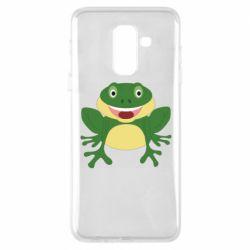 Чехол для Samsung A6+ 2018 Cute toad