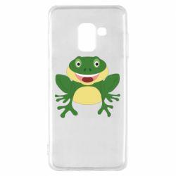 Чехол для Samsung A8 2018 Cute toad