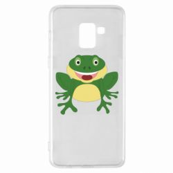 Чехол для Samsung A8+ 2018 Cute toad
