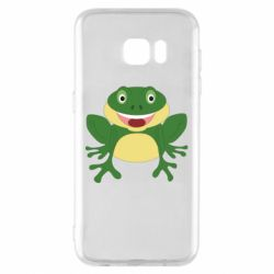 Чехол для Samsung S7 EDGE Cute toad