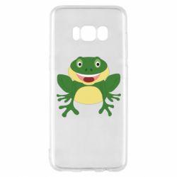 Чехол для Samsung S8 Cute toad