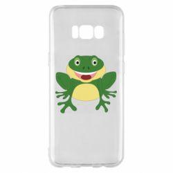 Чехол для Samsung S8+ Cute toad