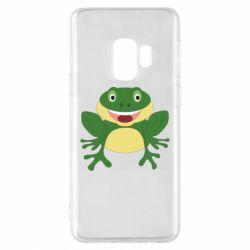 Чехол для Samsung S9 Cute toad