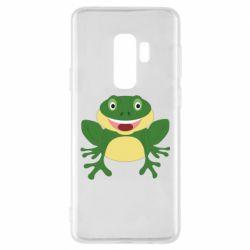 Чехол для Samsung S9+ Cute toad