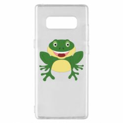Чехол для Samsung Note 8 Cute toad