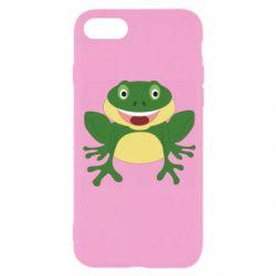 Чехол для iPhone 8 Cute toad