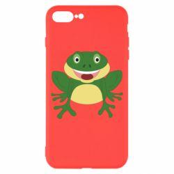 Чехол для iPhone 8 Plus Cute toad