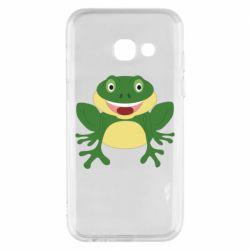 Чехол для Samsung A3 2017 Cute toad
