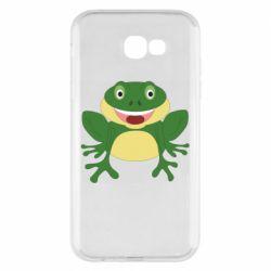 Чехол для Samsung A7 2017 Cute toad