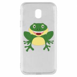 Чехол для Samsung J3 2017 Cute toad