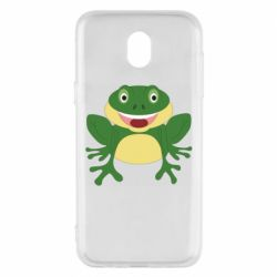 Чехол для Samsung J5 2017 Cute toad