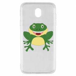 Чехол для Samsung J7 2017 Cute toad