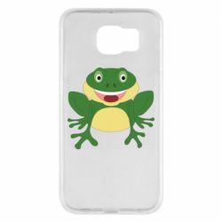 Чехол для Samsung S6 Cute toad