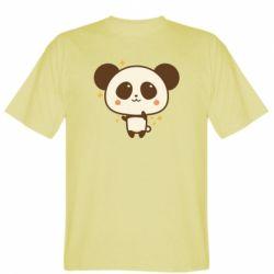 Чоловіча футболка Cute vector pandochka