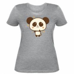 Жіноча футболка Cute vector pandochka