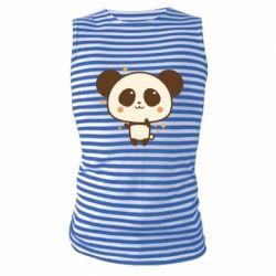 Майка-тільняшка Cute vector pandochka