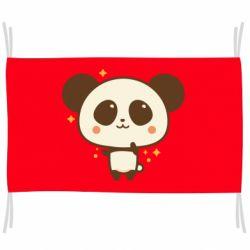 Прапор Cute vector pandochka