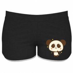 Жіночі шорти Cute vector pandochka