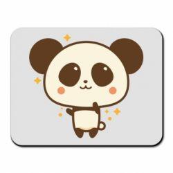 Килимок для миші Cute vector pandochka