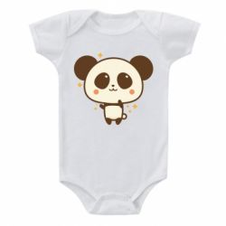 Дитячий бодік Cute vector pandochka