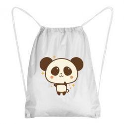 Рюкзак-мішок Cute vector pandochka