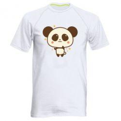 Чоловіча спортивна футболка Cute vector pandochka