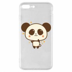 Чохол для iPhone 7 Plus Cute vector pandochka