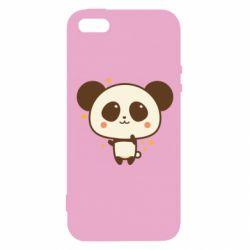 Чохол для iphone 5/5S/SE Cute vector pandochka