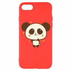 Чохол для iPhone 8 Cute vector pandochka