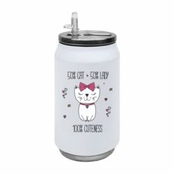 Термобанка 350ml Cuteness lady