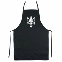 Кольоровий фартух Acute coat of arms of Ukraine
