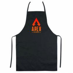 Кольоровий фартух Apex legends gradient logo