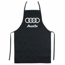 Цветной фартук Audi