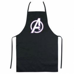 Цветной фартук Avengers and simple logo