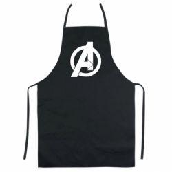 Кольоровий фартух Avengers logo