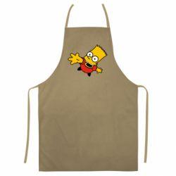 Цветной фартук Барт Симпсон