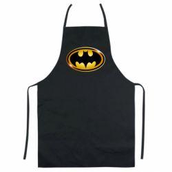 Кольоровий фартух Batman logo Gold