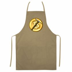 Кольоровий фартух Bitcoin Hammer