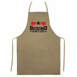 Кольоровий фартух Boxing is my life