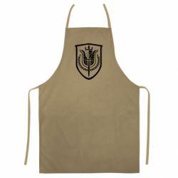 Кольоровий фартух Call of Duty logo with shield