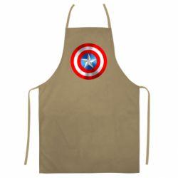 Цветной фартук Captain America 3D Shield