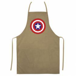 Цветной фартук Captain America