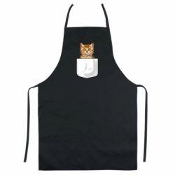 Цветной фартук Cat in your pocket