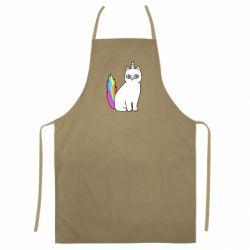 Цветной фартук Cat Unicorn