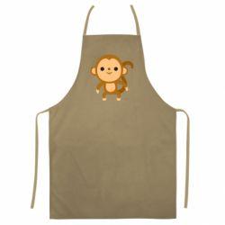 Кольоровий фартух Colored monkey