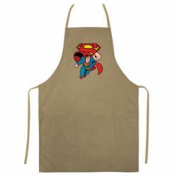 Кольоровий фартух Comics Superman